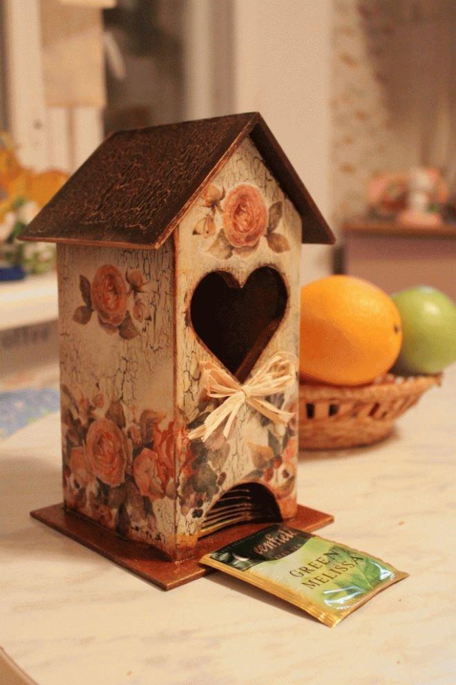 Красивый чайный домик своими руками 51