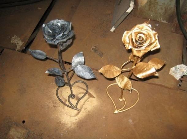 Поделки своими руками из металла в домашних условиях