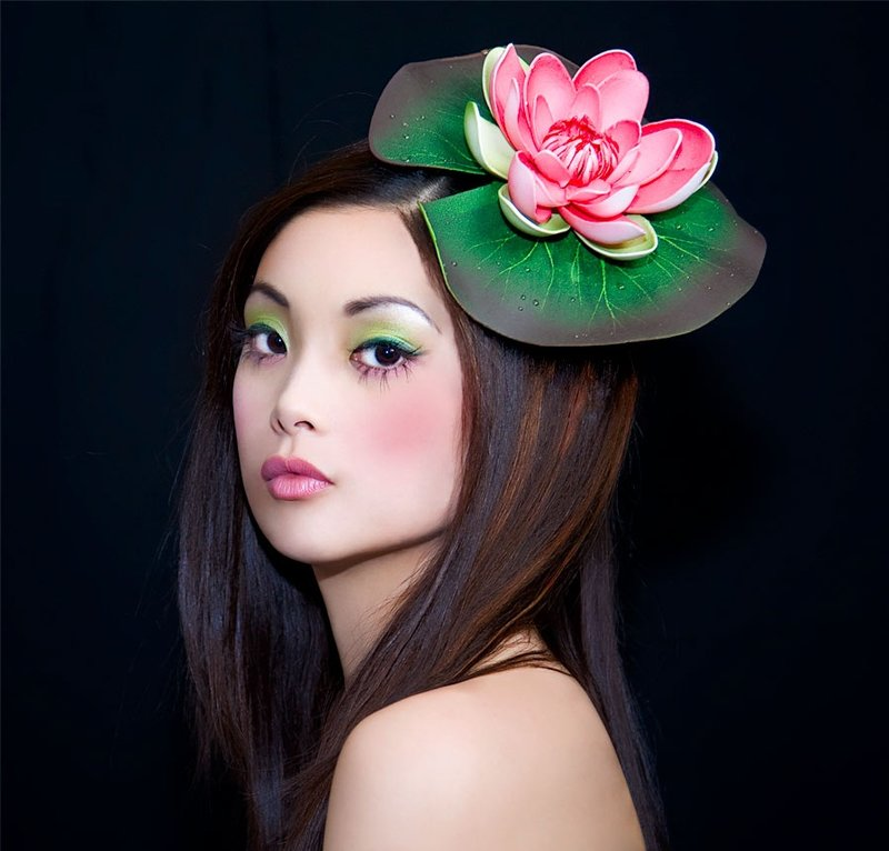 Фото макияж в японском стиле