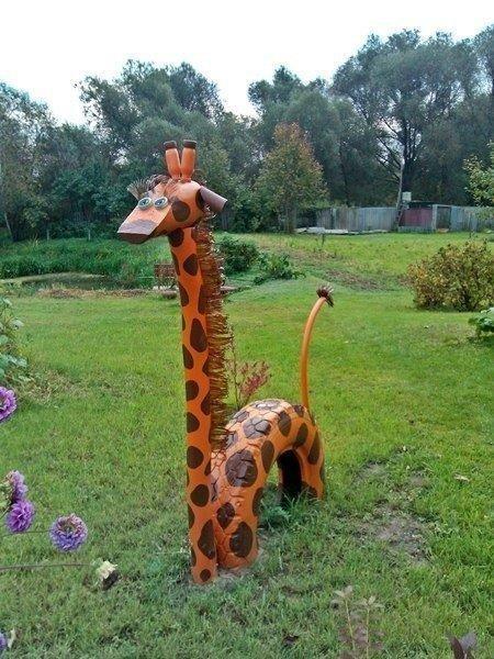 Деревянный жираф своими руками 95