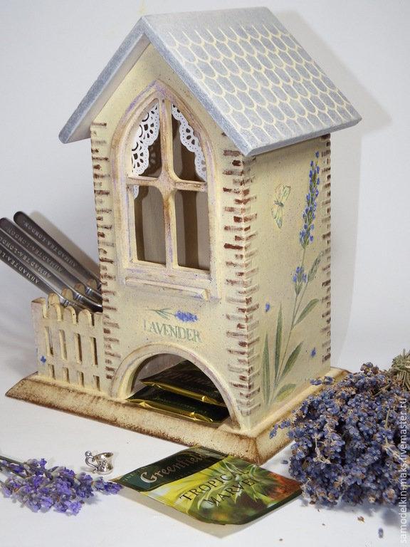 Декоративный домик своими руками мастер класс из картона 5