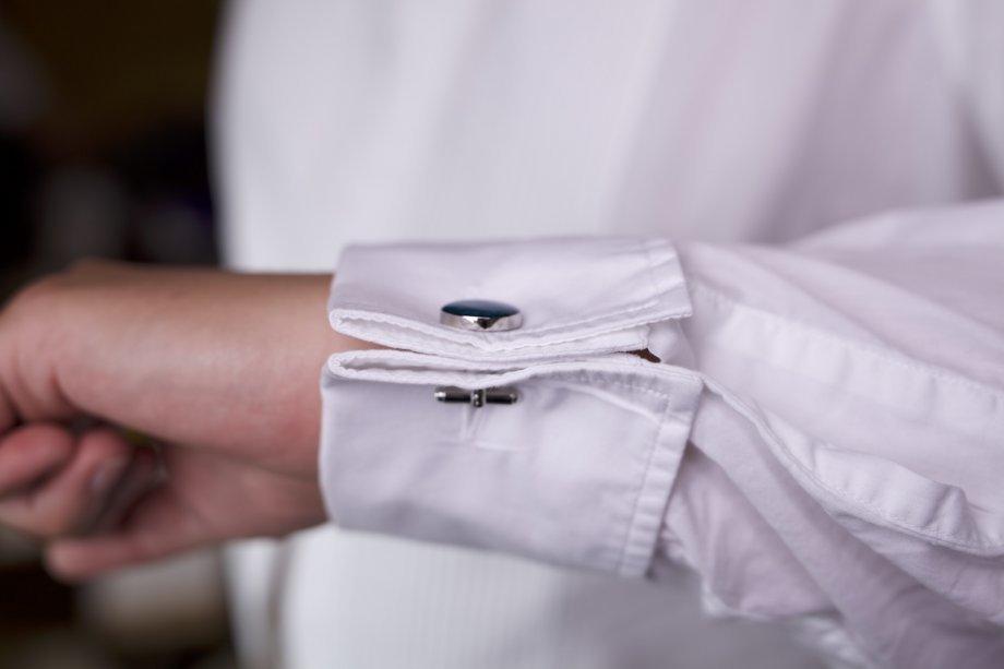 Как сделать рубашку с запонками из обычной 493