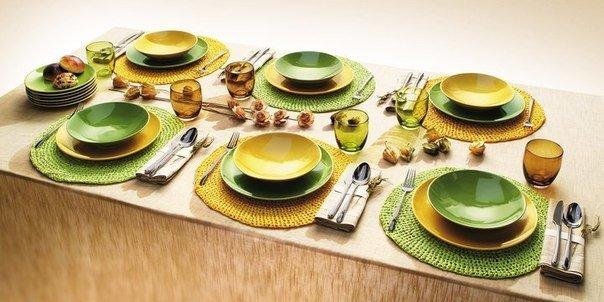 Тарелки для стола своими руками 1065