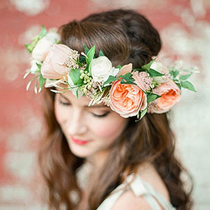 Свадебные веночки на голову своими руками 1
