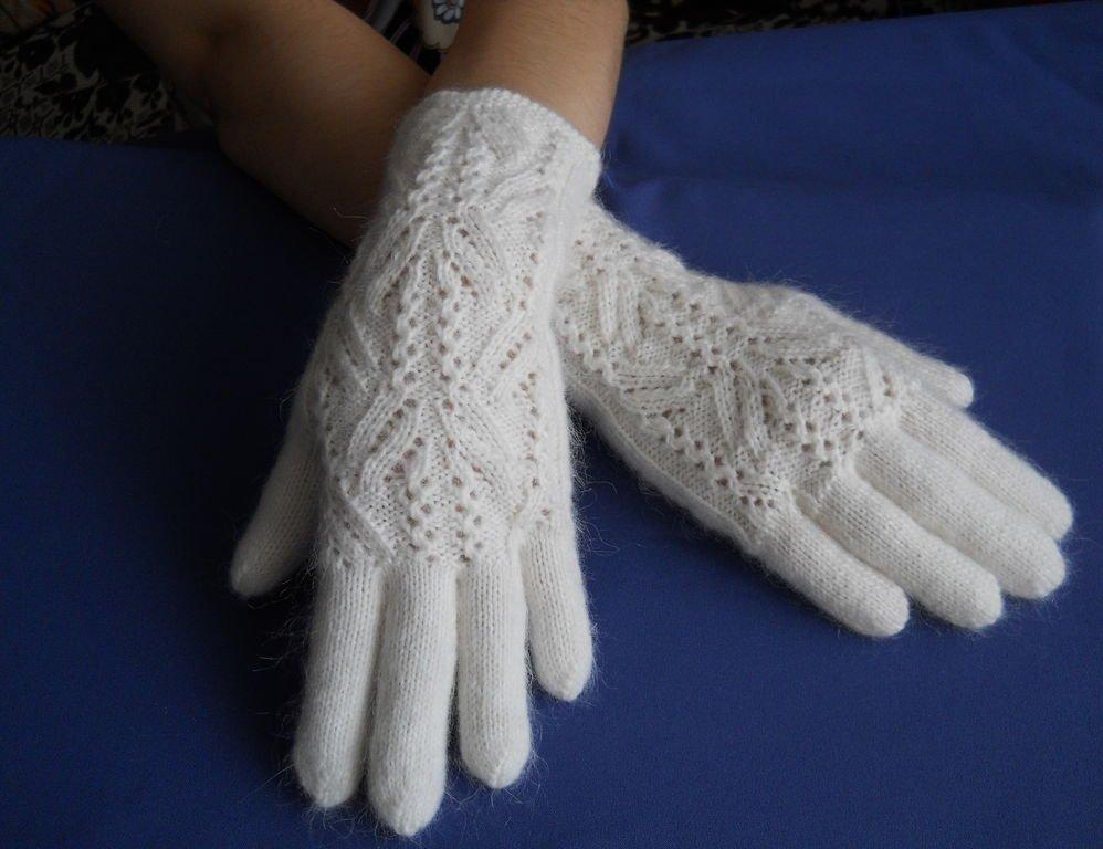Вязание спицами для перчаток 453