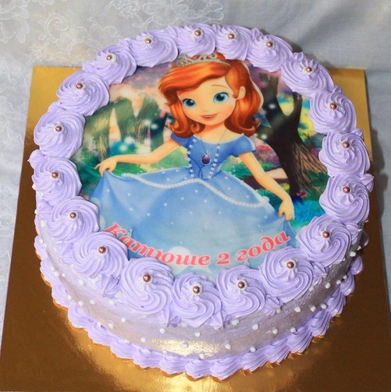 Торт принцесса София своими руками - Рецепты