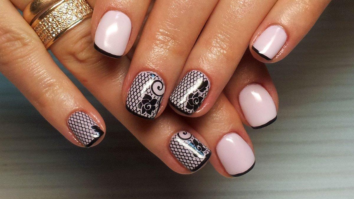 Дизайн ногтей на шилаке фото