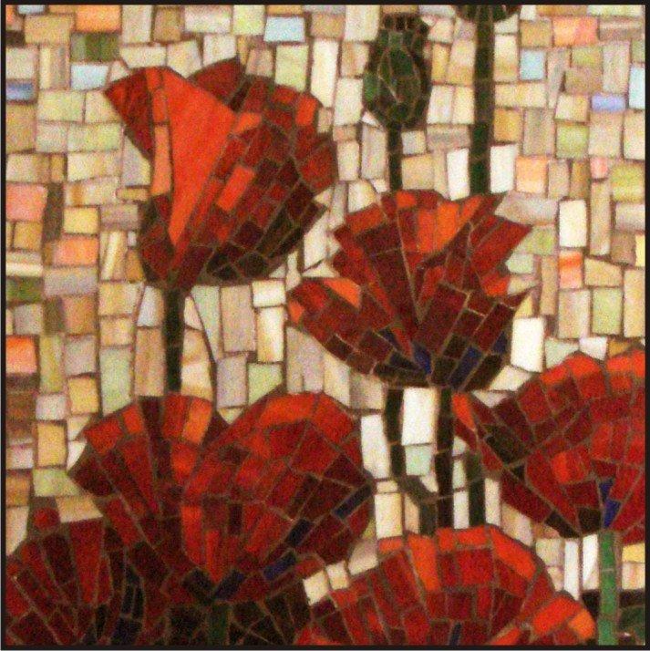 Мастер класс мозаика из стекла своими руками 47