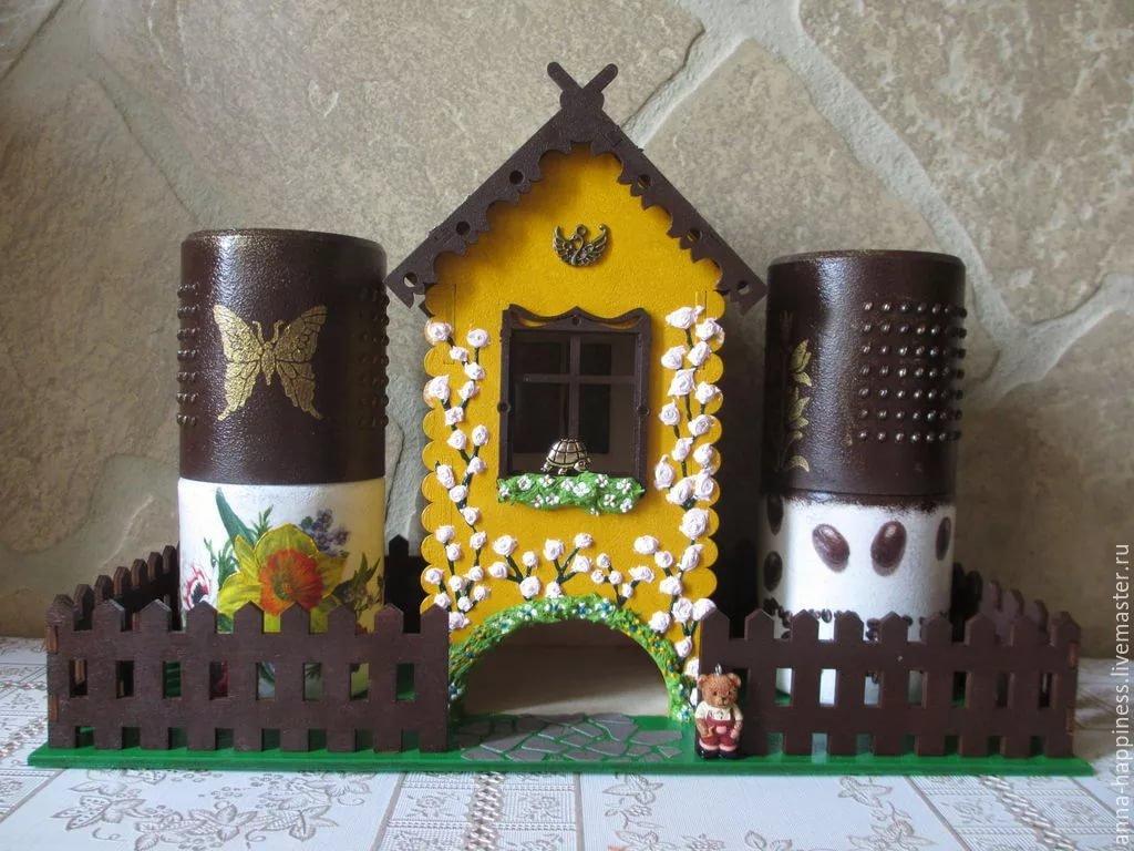 Красивый чайный домик своими руками 98