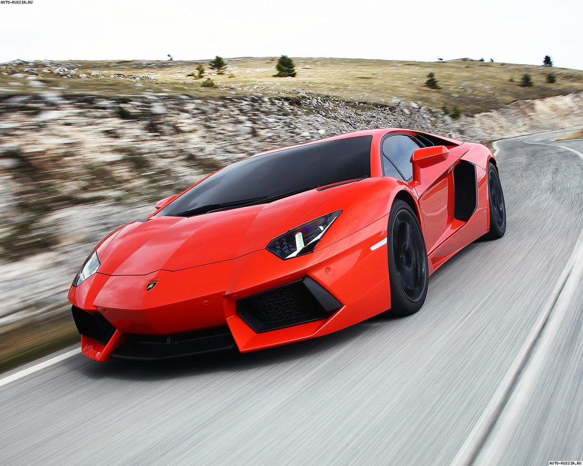 споротивный автомобиль Lamborghini Aventador  № 2430010 бесплатно
