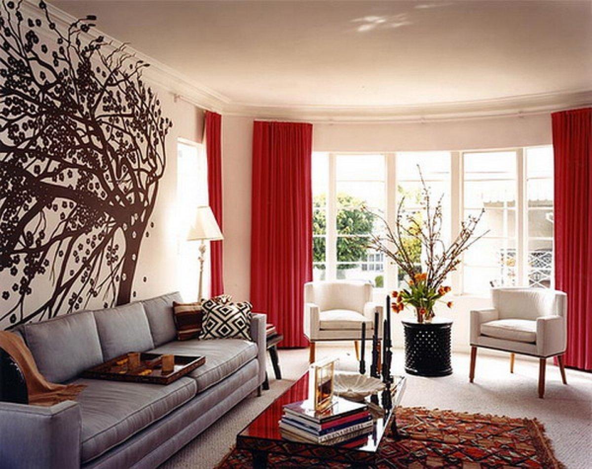 Декор гостиной в квартире своими руками 74