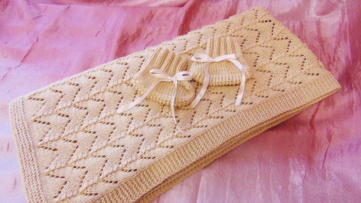 Плед вязание спицами фото 809
