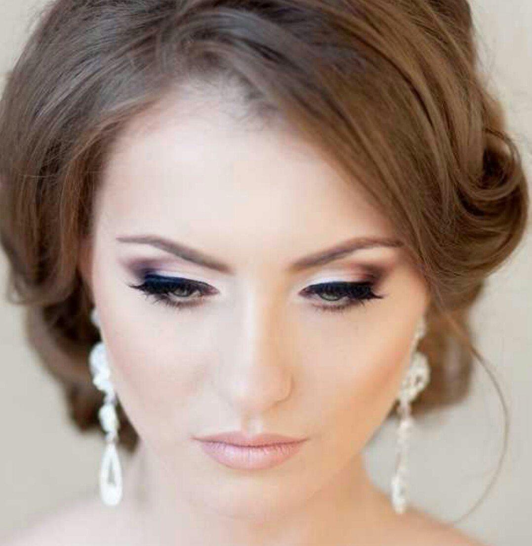 Макияж для зеленых глаз свадебный