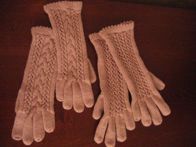 Страна мам вязание перчаток 56