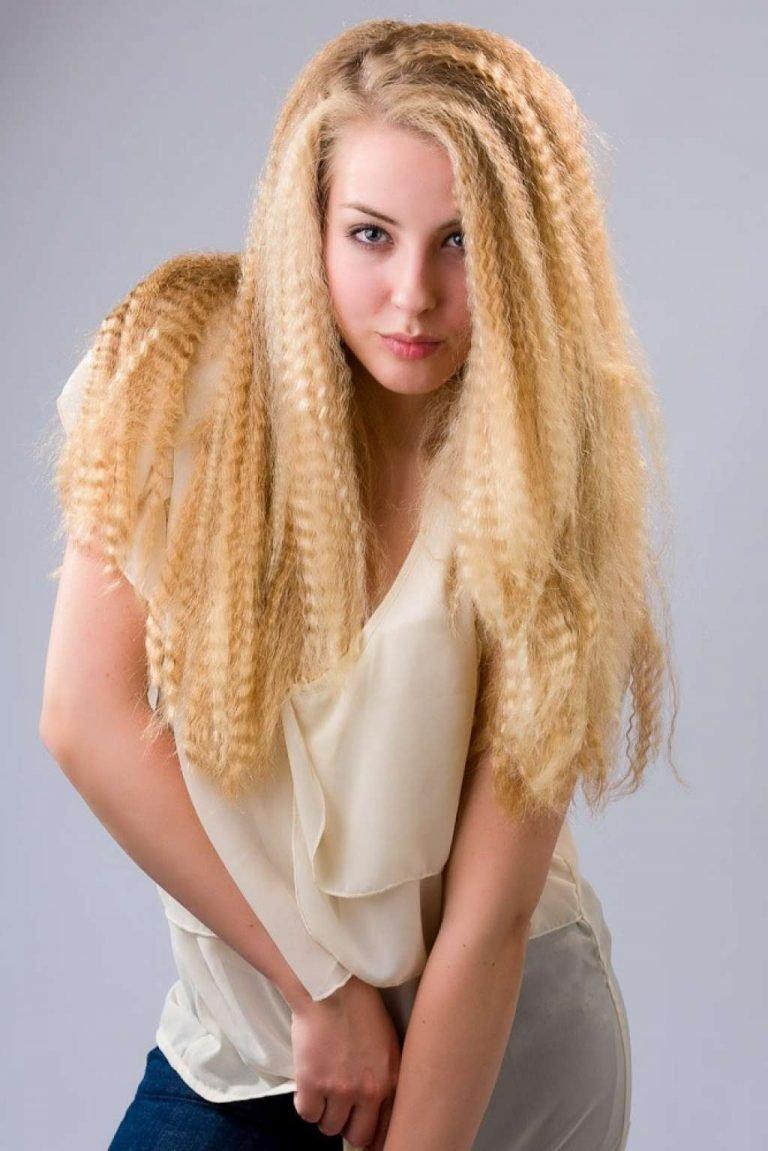 Гофре для волос: как сделать прикорневой объем, фото 9