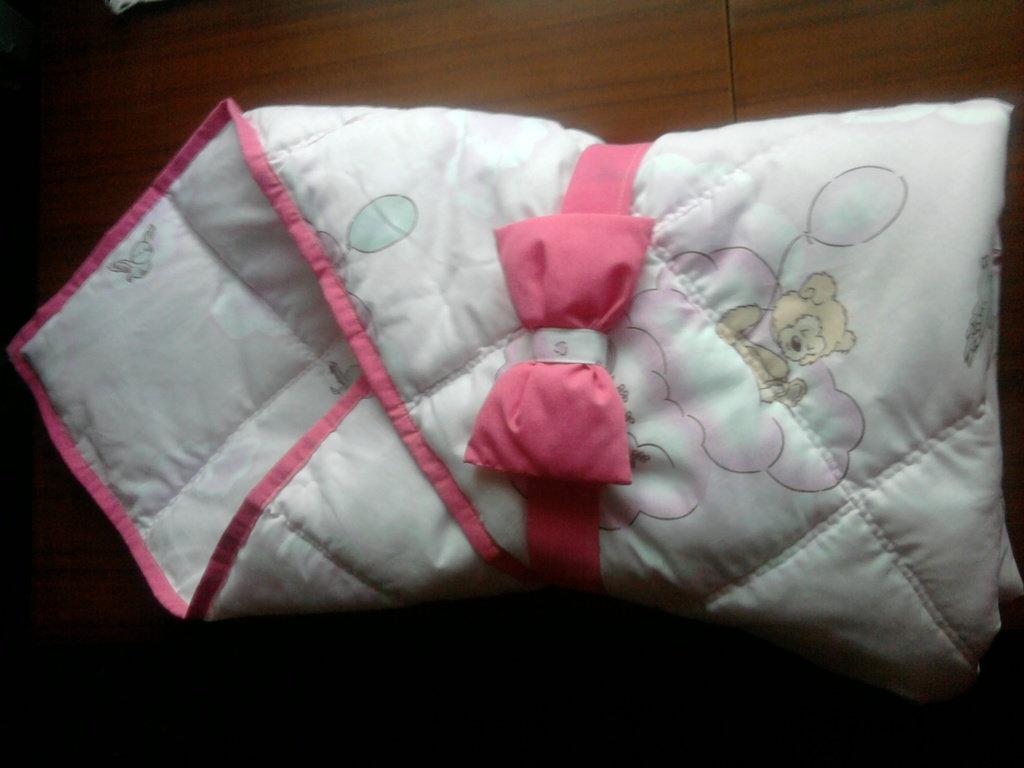Одеяло новорожденной своими руками 429