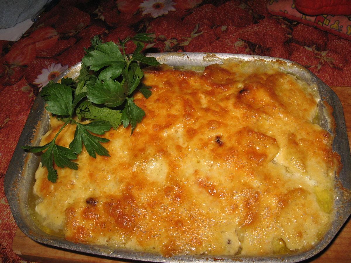 Картофельная запеканка с рыбой в мультиварке рецепты пошагово