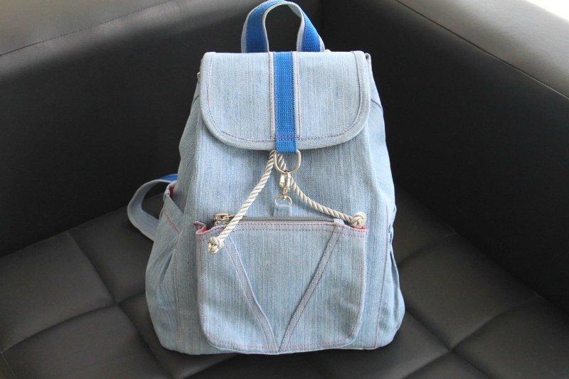 Как сделать рюкзак своими руками в школу 83