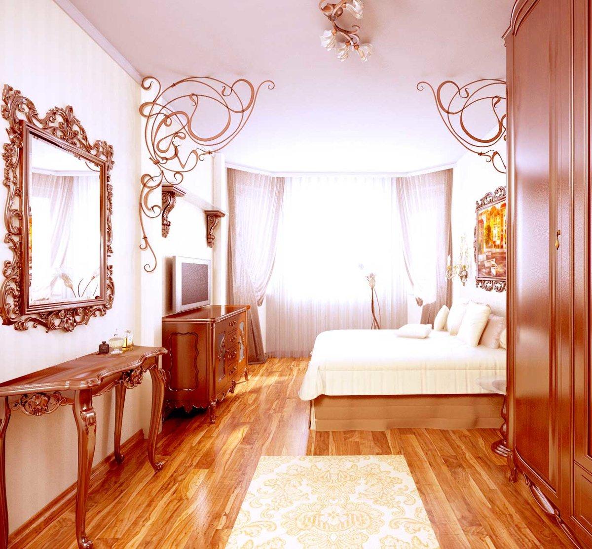 Дизайн комнаты для женщины