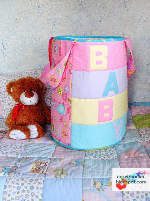 Мешок для игрушек своими руками из ткани 200