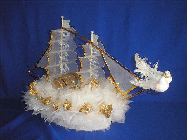 Кораблик подарок своими руками 82