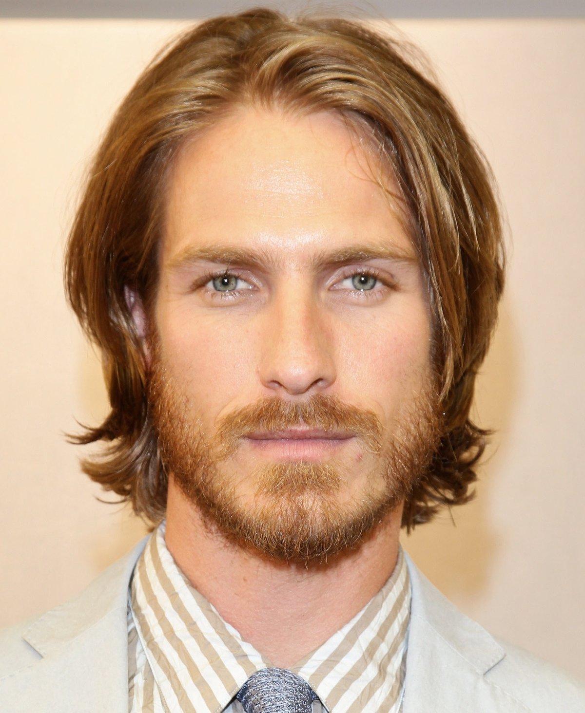 Причёска мужская длинные волосы фото