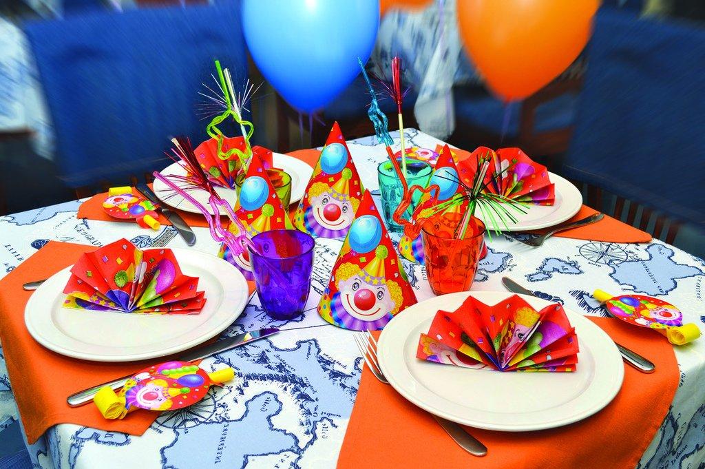 Украшения для стола на день рождения своими руками 99