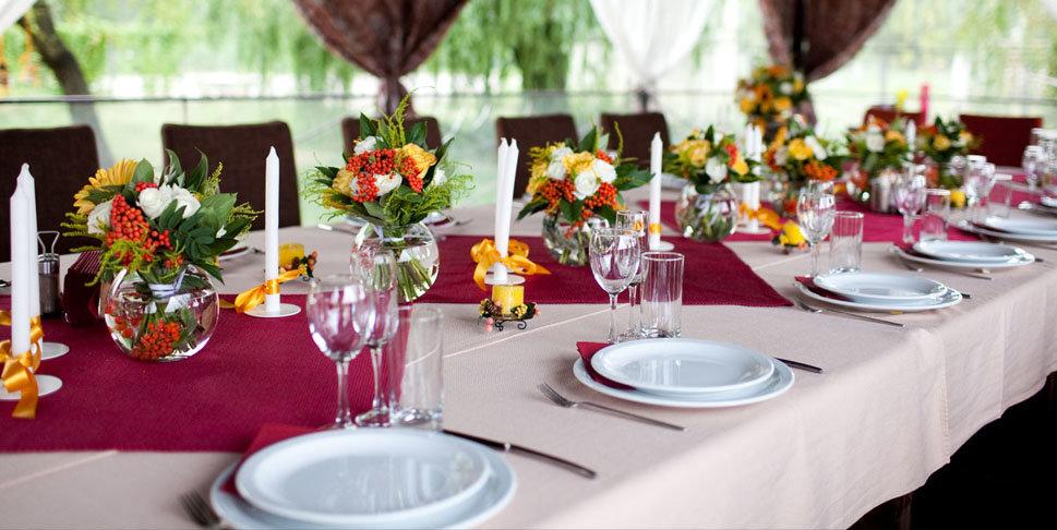 Как накрыть свадебный стол своими руками фото 22