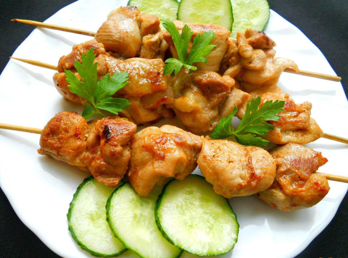 Маринад шашлык из курицы рецепт пошагово