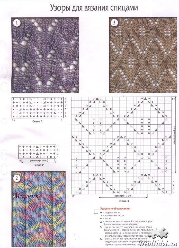 Новые схемы для вязания