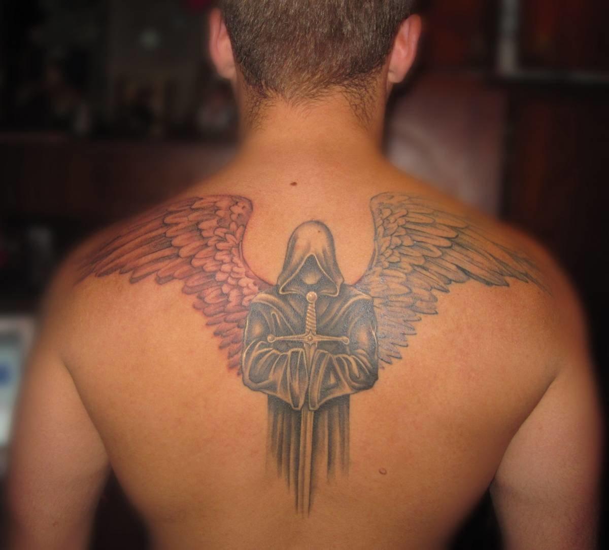 Тату архангела значение на зоне фото