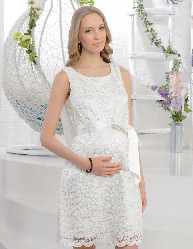 Платье для беременной на регистрацию брака 98