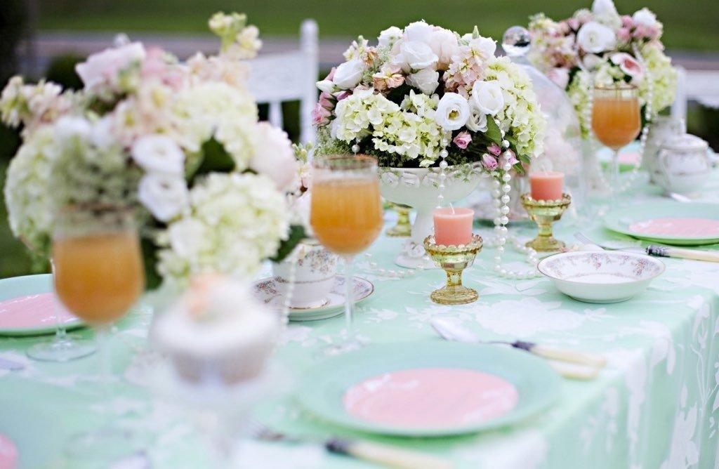 Как накрыть свадебный стол своими руками фото 69