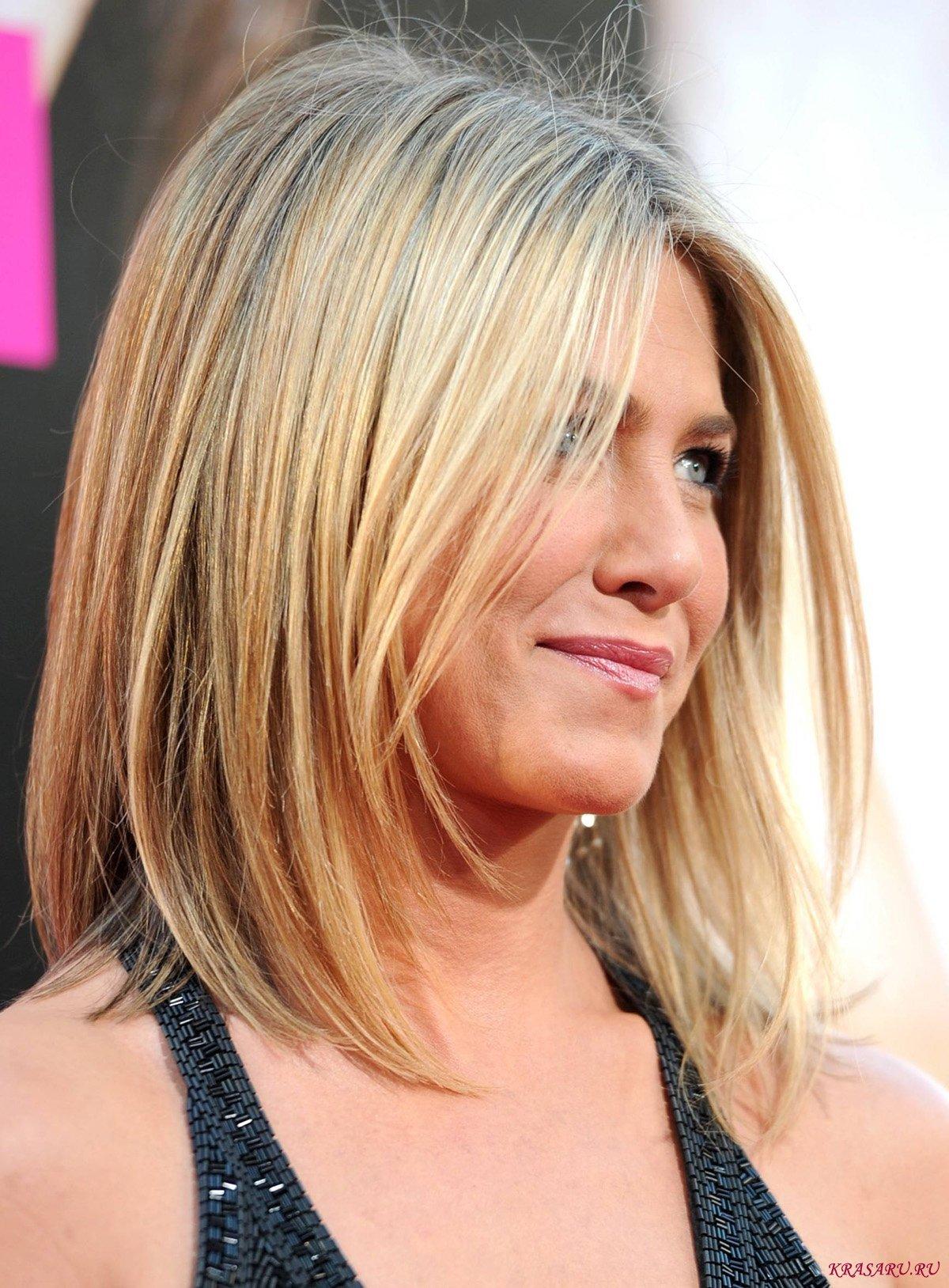 Гранулированная стрижка на средние волосы
