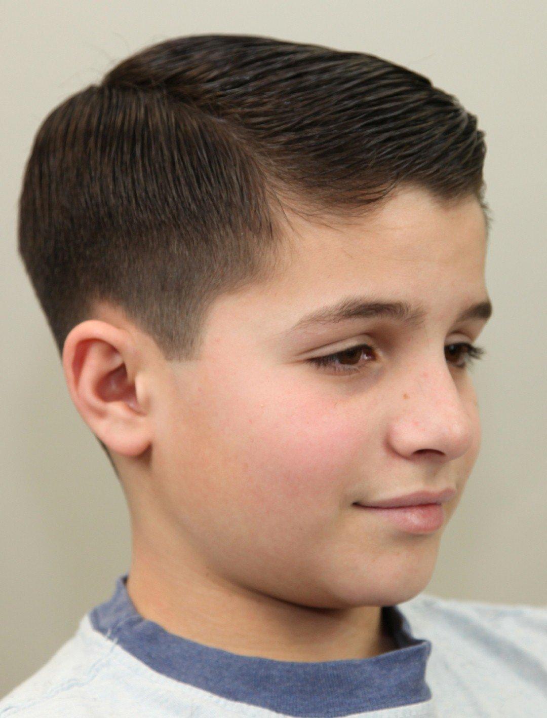 Стильная причёска в 14 лет мальчикам