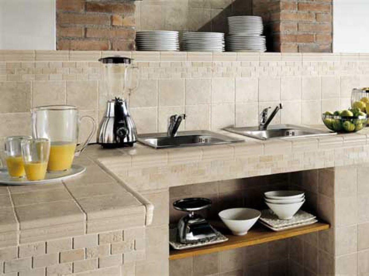 Как сделать на кухне столешницу из плитки своими руками 189