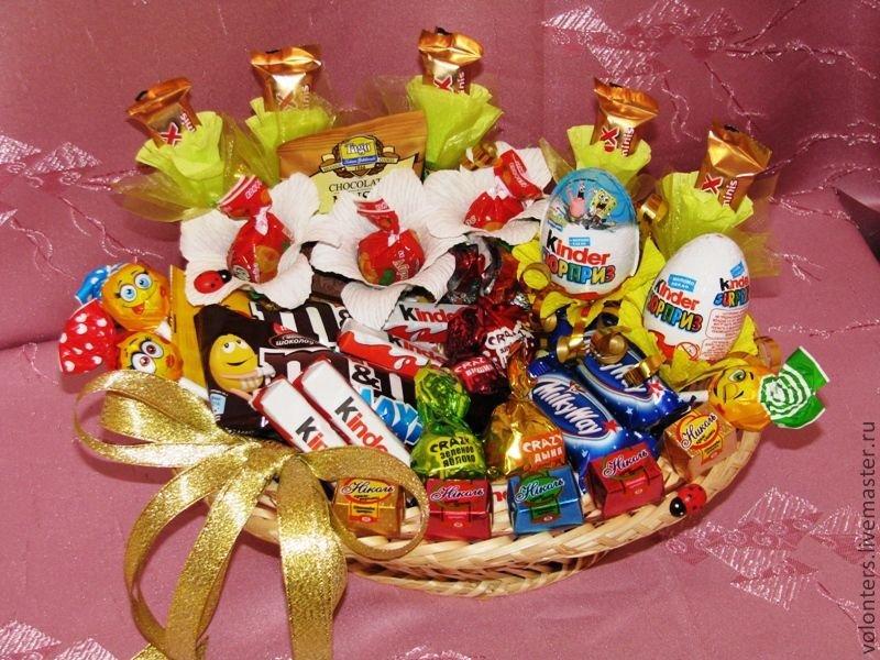 Как сделать сладкие подарки 74