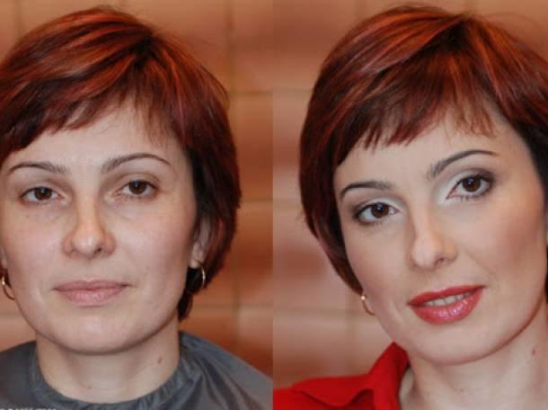 Мастер класс по макияжу женщинам за 50