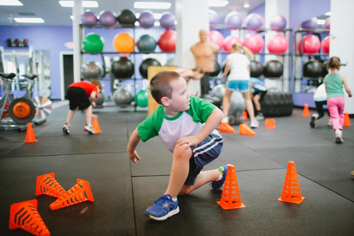 Фитнес для детям фото