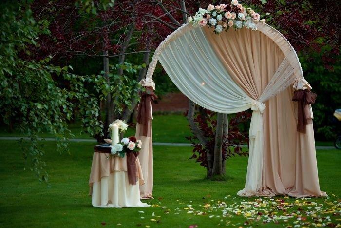 Арка для свадьбы и ее оформление