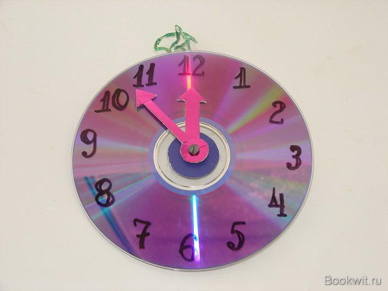 Часы с движущимися стрелками своими руками