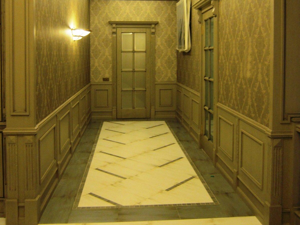 Панель для коридора своими руками