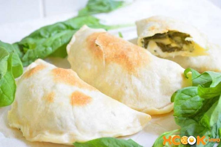 Чебуреки с сыром и ветчиной рецепт пошаговый