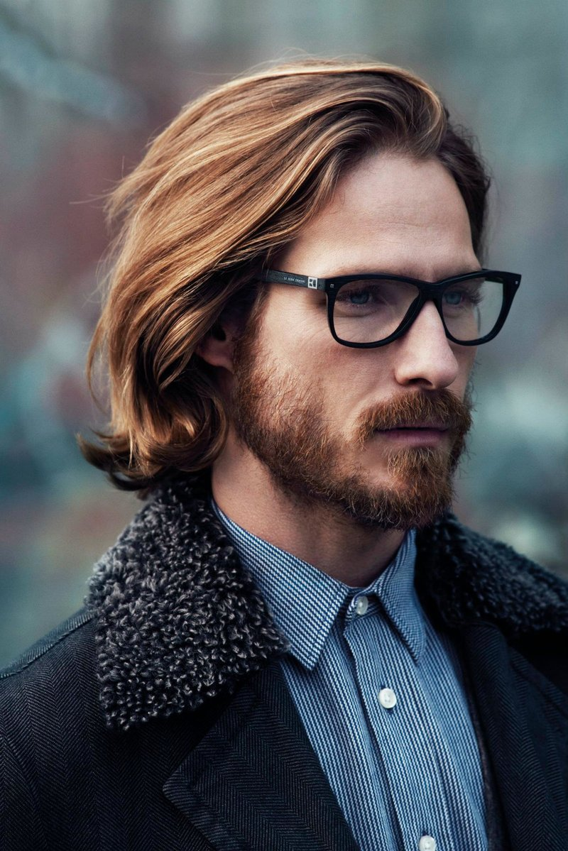 Мужские стрижки на среднюю длину волос
