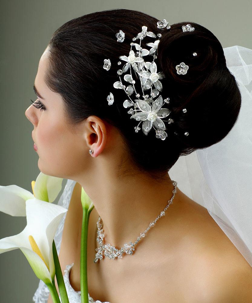 Свадебные прически, 280 фото красивых свадебных причесок 73