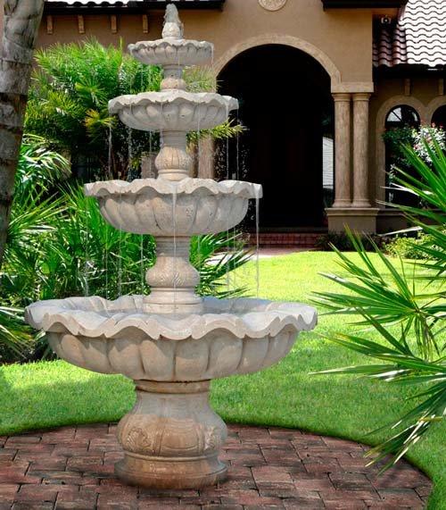 Для дома своими руками фонтанчик 19