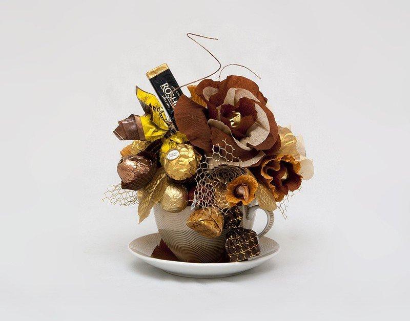 Подарки из чая и кофе своими руками фото