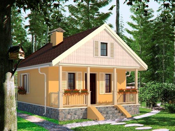Строим дачный дом проекты домов
