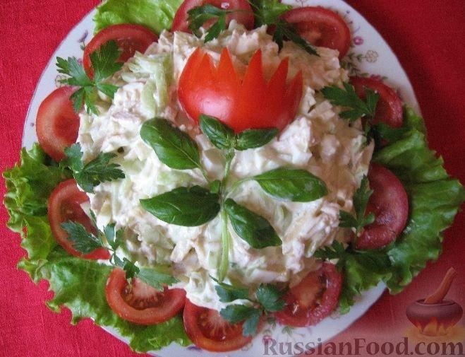 Простой салат на день рождения