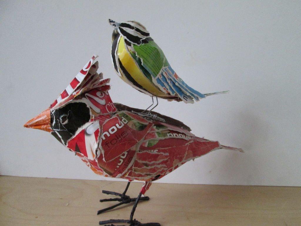 Своими руками в виде птиц 387